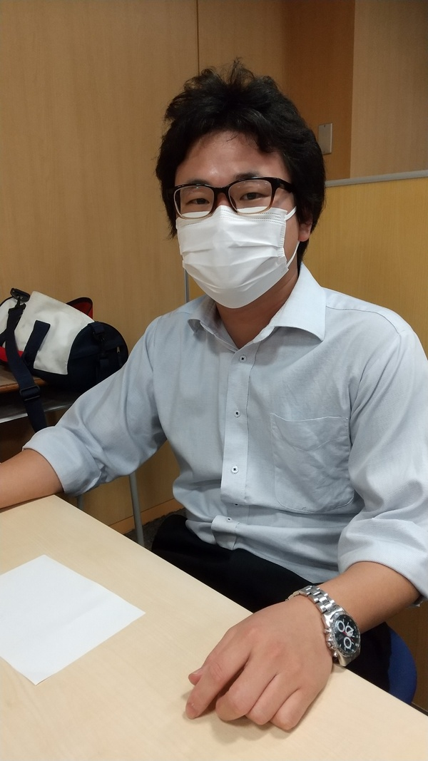 【水曜担当Teaching Assistant】齊藤 雄大 講師