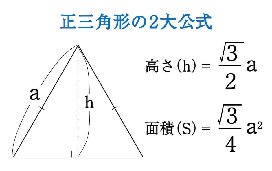 数学】正三角形の高さと面積は5秒で出せる! ~受験の秒殺テク(4 ...